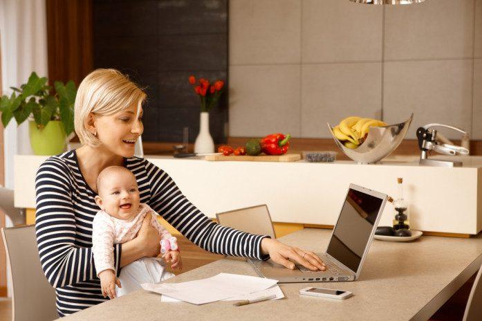 заробіток на дому для жінок, мам в декреті