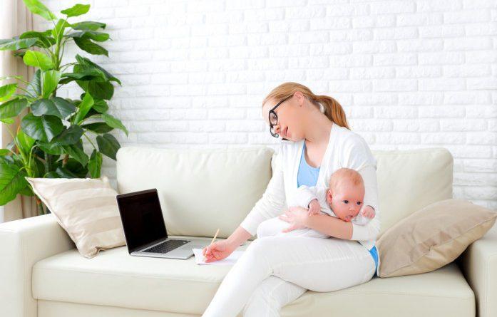 Заробіток для мам у декреті, робота для мам у декреті