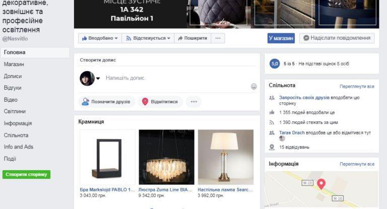 збільшення продажів через фейсбук