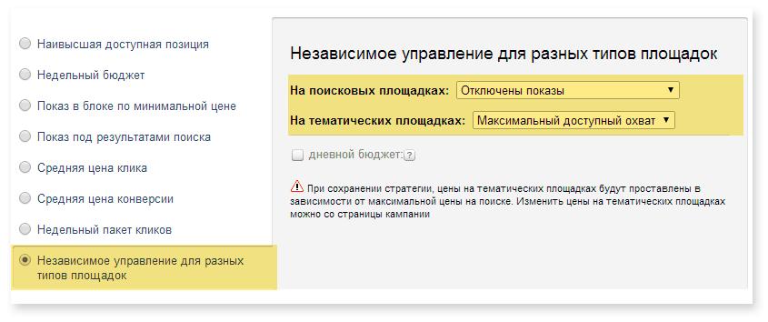 контекстно-медійні оголошення Яндекс