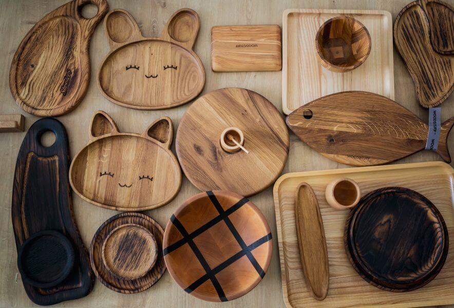 Бізнес-ідея виготовлення якісного посуду із дерева