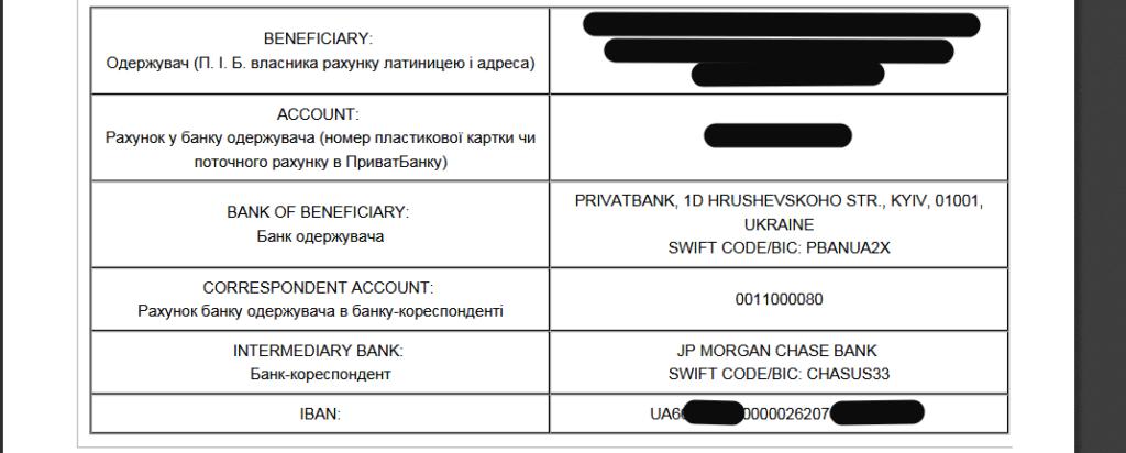 Adsense блокування способів оплати в Україні через номер рахунку