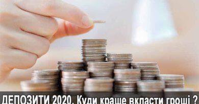 Огляд кращих депозитыв у гривны 2020 року для зберігання грошей