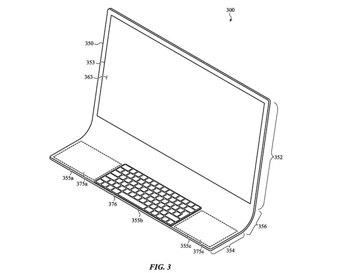 Apple патентує гнучкий дисплей