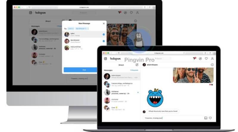 Instagram надасть можливість відправки повідомлень в Direct через веб-версію