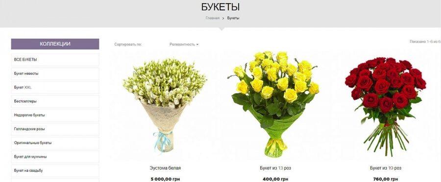 Відкрити свій Інтернет-магазин квітів