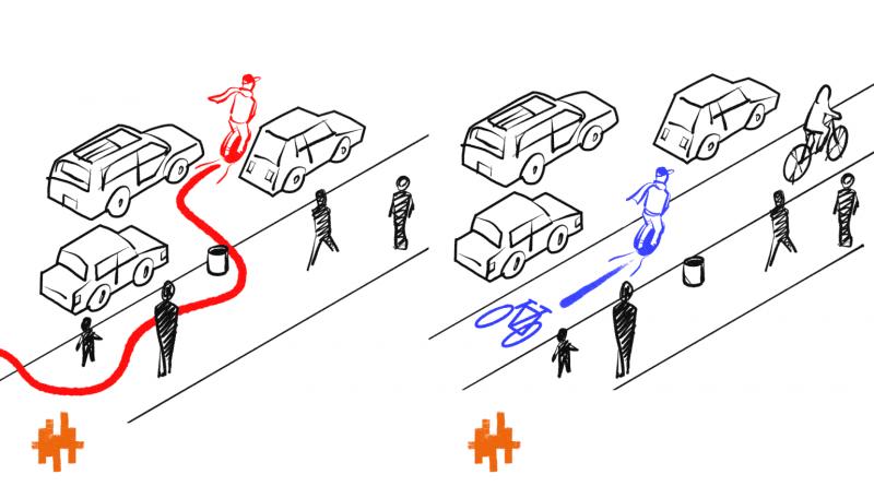 Депутати ВРУ підготували законопроект про водіїв електросамокатів і електроскутерів