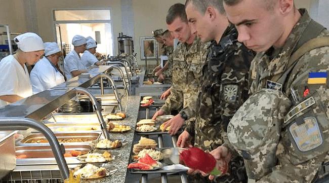 Оновлено систему харчування для військових