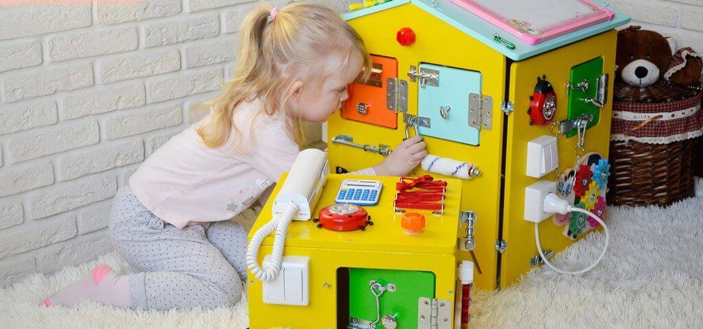 бізіборди для развития детей