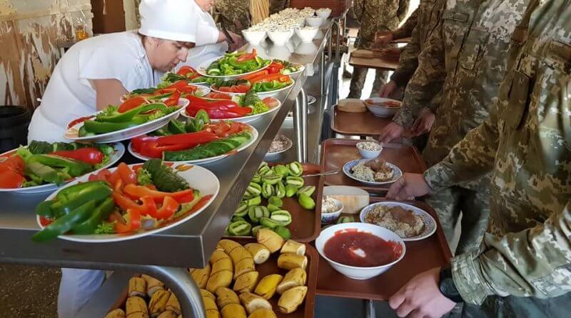 як зміниться харчування військовослужбовців