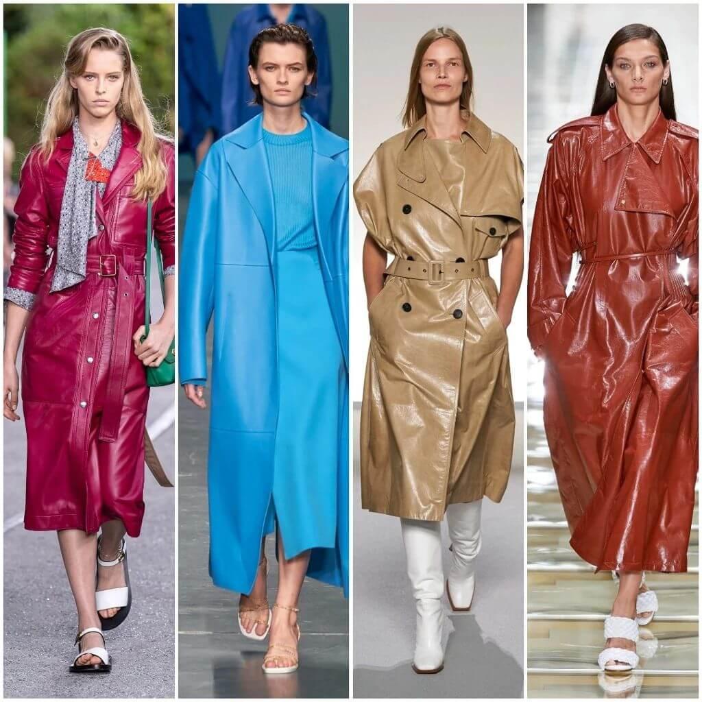 мода 2020 Шкіряний одяг