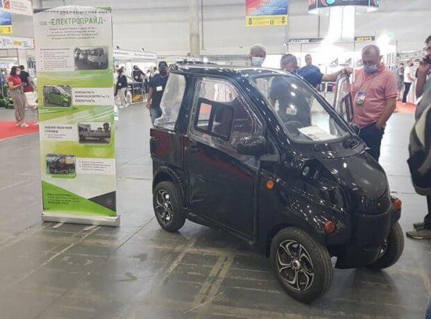В Україні представили прототип електрокару за 5000$ від вітчизняного виробника