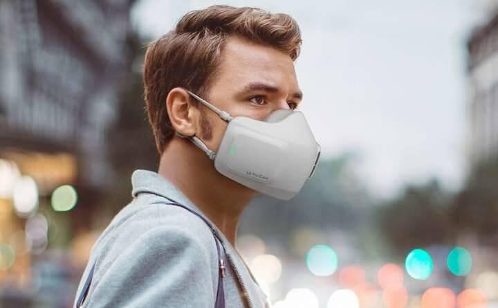Нова маска захиска від компанії LG