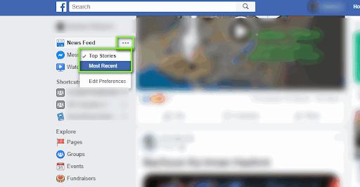 Налаштування стрічки Новин в Фейсбук