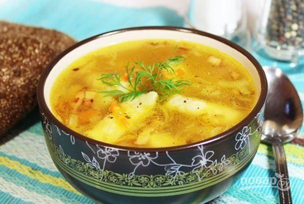 Картопляний суп з кльоцками