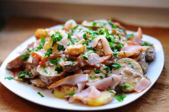 Німецький картопляний салат