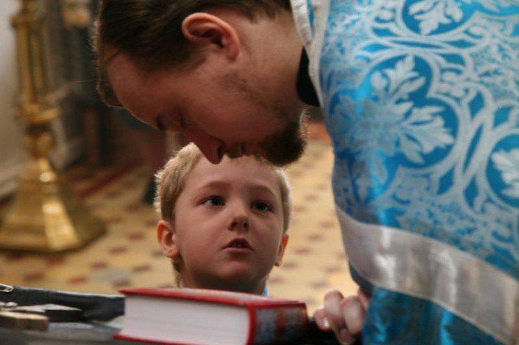 Із скількох років можна приступати до сповіді дітям