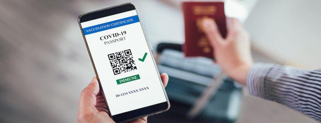 Як виглядає ковіднй сертифікат (паспорт) для подорожей у ЄС